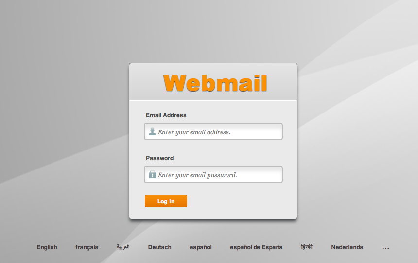 Roundcube webmail login page - Boscos in lake forest oh